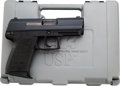 Handguns:Semiautomatic Pistol, Cased Heckler & Koch USP Compact Semi-Automatic Pistol....(Total: 2 Items)