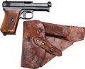 Handguns:Semiautomatic Pistol, Mauser Model 1914 Semi-Automatic Pistol with Holster.... (Total: 2 )