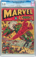 Golden Age (1938-1955):Superhero, Marvel Mystery Comics #40 (Timely, 1943) CGC GD/VG 3.0 Off-white pages....