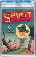 Golden Age (1938-1955):Crime, The Spirit #nn (#2) San Francisco Pedigree (Quality, 1945) CGC NM 9.4 Off-white to white pages....