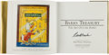 Memorabilia:Disney, Barks Treasury Gold Limited Edition with Signed Certificate #522/1000 (Applewood Books, 1997)....