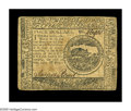 Colonial Notes:Continental Congress Issues, Continental Currency May 10, 1775 $4 Very Fine. A nice example ofthis first Continental Issue. The Brown signature is bold ...