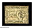 Colonial Notes:Continental Congress Issues, Continental Currency February 17, 1776 $3 New. Closely trimmed andwith a little surface soil, but fully uncirculated. One o...