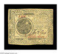 Colonial Notes:Continental Congress Issues, Continental Currency February 17, 1776 $7 Choice About New. Thereis a single light vertical fold on this boldly signed, wel...