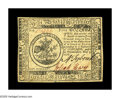 Colonial Notes:Continental Congress Issues, Continental Currency May 9, 1776 $5 Extremely Fine. Well signed andwell margined....