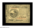 Colonial Notes:Continental Congress Issues, Continental Currency July 22, 1776 $6 Gem New. A spectacular note,with excellent margins, bold print quality, vivid signatu...