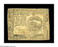 Colonial Notes:Continental Congress Issues, Continental Currency February 26, 1777 $4 Choice About New. A lightvertical center fold holds this Baltimore Issue Continen...