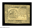 Colonial Notes:Continental Congress Issues, Continental Currency February 26, 1777 $5 Extremely Fine. Thisscarcer Baltimore issue note is signed by Benjamin Levy....