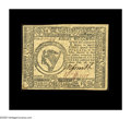 Colonial Notes:Continental Congress Issues, Continental Currency February 26, 1777 $8 Choice About New. Asingle light vertical fold holds this beautifully signed, well...