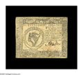 Colonial Notes:Continental Congress Issues, Continental Currency September 26, 1778 $8 Very Fine-ExtremelyFine. The right-hand face margin touches the design on what i...