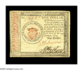 Colonial Notes:Continental Congress Issues, Continental Currency January 14, 1779 $1 Extremely Fine. The $1note was printed for only five of the eleven Continental Iss...