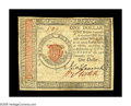 Colonial Notes:Continental Congress Issues, Continental Currency January 14, 1779 $1 Extremely Fine. Thiseleventh and final Continental issue is one of only five of th...