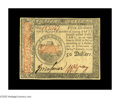 Colonial Notes:Continental Congress Issues, Continental Currency January 14, 1779 $50 Choice About New.Decently margined, with strong signatures and a very attractive ...