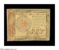 Colonial Notes:Continental Congress Issues, Continental Currency January 14, 1779 $60 Extremely Fine-About New.The $60 denomination was only produced for the final two...