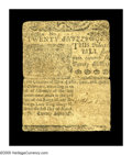 Colonial Notes:Delaware, Delaware March 1, 1758 20s Fine. An ideal example of the grade.Somewhat stronger on the face than the back. It appears to b...