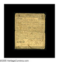 Colonial Notes:Delaware, Delaware June 1, 1759 15s Very Fine. Tape reinforced along itscenter split, but particularly high-grade for the issue. The ...