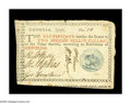 Colonial Notes:Georgia, Georgia 1776 $2 Very Fine-Extremely Fine. A very beautiful example of this scarce Blue Seal Caduceus Georgia note. The margi...