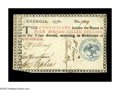 Colonial Notes:Georgia, Georgia 1776 $4 Extremely Fine. Absolutely delightful color, withfive bold brown signatures, red and black printing, and a ...