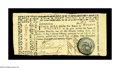 Colonial Notes:Georgia, Georgia May 4,1778 $20 Extremely Fine. Trimmed in all across thebottom, but with a strong rattlesnake vignette and excellen...