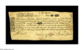 Colonial Notes:Massachusetts, Massachusetts May 25, 1775 12s Very Fine-Extremely Fine. Save for avery minor restoration-tape repair at the top inch of th...