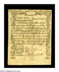 Colonial Notes:Massachusetts, Massachusetts December 7, 1775 28s Choice Very Fine. Anexceptionally nice Massachusetts sword-in-hand note that wasprinted...
