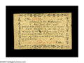 Colonial Notes:Massachusetts, Massachusetts June 18, 1776 10d Very Fine-Extremely Fine. A veryrare note in high grade, and this piece is a beauty. It's s...