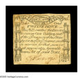 Colonial Notes:Massachusetts, Massachusetts October 16, 1778 12d Extremely Fine. A beautiful PaulRevere-engraved Codfish note, lightly circulated but pro...