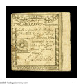 Colonial Notes:Massachusetts, Massachusetts 1779 2s6d Extremely Fine. A beautifully marginedRising Sun note that is quite well printed on both sides. The...