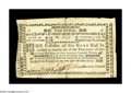 Colonial Notes:New Hampshire, New Hampshire November 3, 1775 40s Very Fine-Extremely Fine. Thereare half-inch splits at the top and bottom of the center-...