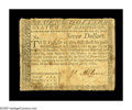 Colonial Notes:New Hampshire, New Hampshire April 29, 1780 $7 Fine. There are a few minor paperpeels on the back, but far more importantly, this evenly c...