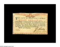Colonial Notes:New York, New York August 2, 1775 (Water Works) 8s New. This Red and BlackWater Works note is fully Choice in every respect, but for ...