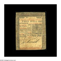 Colonial Notes:Pennsylvania, Pennsylvania May 1, 1760 50s Very Fine. Highly attractive for thegrade with three bold signatures and clear text on both si...