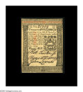 Colonial Notes:Pennsylvania, Pennsylvania October 1, 1773 20s Very Choice New. Beautifullysigned and boldly printed, but held from the Gem grade by the ...