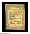 Colonial Notes:Pennsylvania, Pennsylvania October 1, 1773 50s Very Choice New. A handsome notefrom this more available Pennsylvania issue that comes qui...