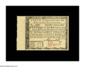 Colonial Notes:Rhode Island, Rhode Island July 2, 1780 $8 Very Choice New. The face isbeautifully margined but the back is lightly cut at its bottom....