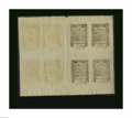 Colonial Notes:Rhode Island, Rhode Island May 1786 Double Sheet of Eight Choice About New. Thereare two each of the 1s, 6d, 2s/6d, and 9d notes. Taken i...