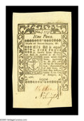 Colonial Notes:Rhode Island, Rhode Island May 1786 9d Gem New. Hugely margined all around withdeep original embossing and excellent color. This is a com...