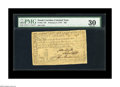 Colonial Notes:South Carolina, South Carolina February 8, 1779 $90 PMG Very Fine 30. Nicely signedand with no apparent flaws save for a tiny worm-hole at ...