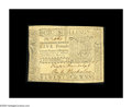 Colonial Notes:Virginia, Virginia March 11, 1760 L5 Extremely Fine. This is bar none the single rarest Virginia note that CAA has handled in our 40+ ...