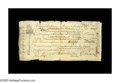 Colonial Notes:Virginia, Virginia April 1, 1773 L8 Very Fine. This is the earlier and much rarer James River Bank form issue, and, in spite of numero...