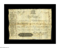 Colonial Notes:Virginia, Virginia March 4, 1773 L5 Very Fine. A second incredible grade piece from this extremely rare issue. While it is nowhere ne...