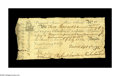 Colonial Notes:Virginia, Virginia September 1, 1775 L5 Very Fine. A truly nice example withonly a few minor edge problems and no paper loss. The not...