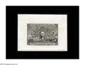 Fractional Currency:Second Issue, Milton 2S5F.1c 5¢ Second Issue Plate Proof Gem New. An incrediblysharp, clean print from the completed Five Cent Second Iss...