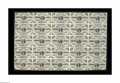 Fr. 1226 3¢ Third Issue Uncut Sheet of Twenty-five About New. Lightly aged along the bottom and left with one tiny...
