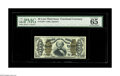 Fractional Currency:Third Issue, Fr. 1339 50c Third Issue Spinner Type II PMG Gem Uncirculated 65. Turn over the holder and the pleasing Type II back is evid...
