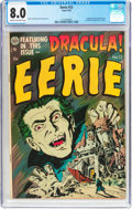 Golden Age (1938-1955):Horror, Eerie #12 (Avon, 1953) CGC VF 8.0 Cream to off-white pages....