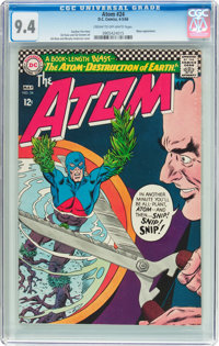 The Atom #24 (DC, 1966) CGC NM 9.4 Cream to off-white pages