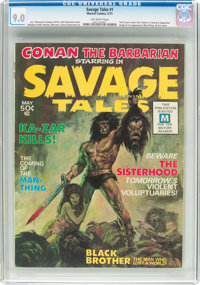 Savage Tales #1 (Marvel, 1971) CGC VF/NM 9.0 Off-white pages
