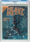 Magazines:Science-Fiction, Heavy Metal #1 (HM Communications, 1977) CGC NM- 9.2 Whitepages....