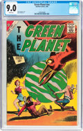 Silver Age (1956-1969):Science Fiction, The Green Planet nn (Charlton, 1962) CGC VF/NM 9.0 White pages....